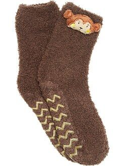 Fille 3-12 ans Chaussons chaussettes animaux