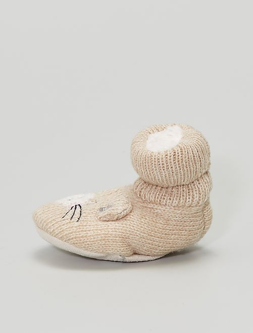 Chaussons chaussettes                                         rose