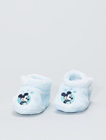 Chaussons en maille peluche 'Disney'