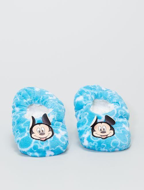 Chaussons en polaire douce 'Mickey' 'Disney'                     bleu