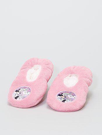 Chaussons en polaire douce 'Minnie' 'Disney'