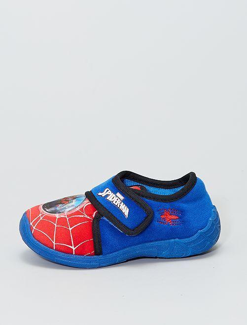 Chaussons en ratine 'Spider-Man' 'Marvel'                             bleu