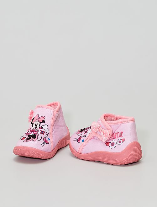 Chaussons 'Minnie Mouse' 'Disney'                             rose