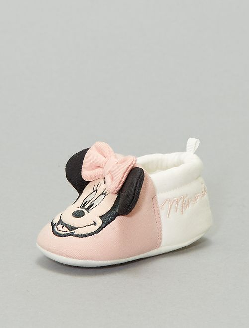 Chaussons 'Minnie'                                         rose