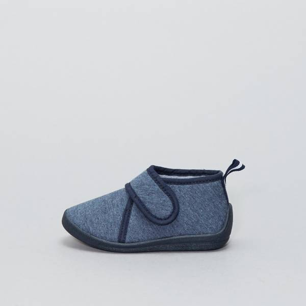 best place cheap for sale new products Chaussons montants à scratch