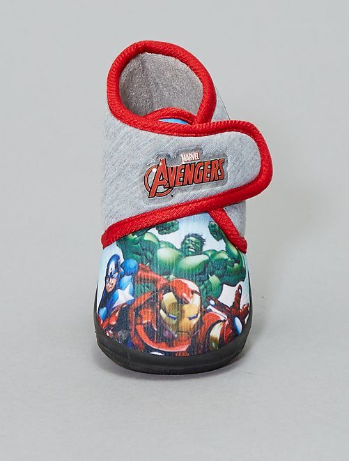 Chaussons montants 'Avengers'                                         gris