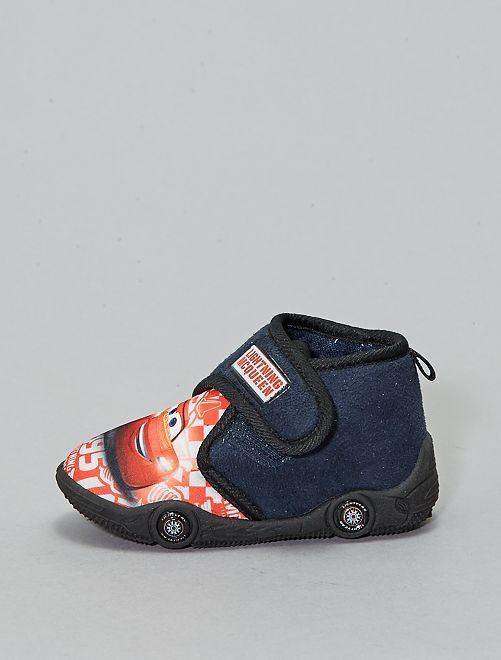 Chaussons montants 'Cars'                                         bleu navy