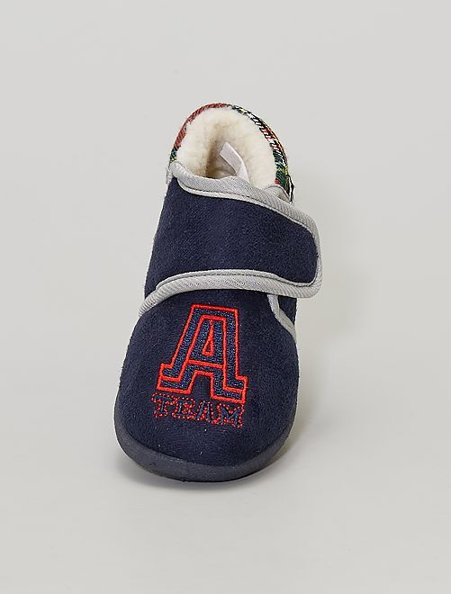 Chaussons montants                             marine