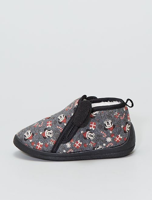 Chaussons montants 'Mickey Mouse' 'Disney'                             gris