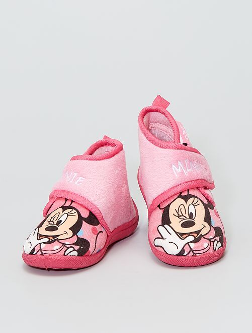 Chaussons montants 'Minnie' 'Disney'                             rose