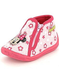 Chaussons montants 'Minnie' - Kiabi