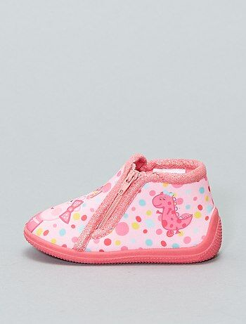 Chaussons montants `Peppa Pig`