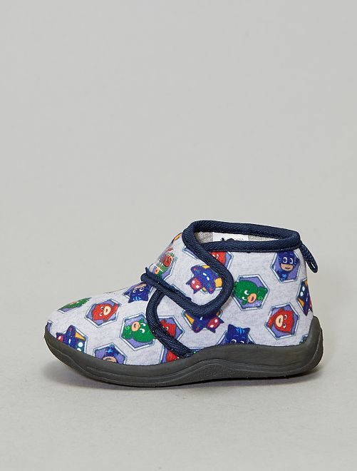 Chaussons montants 'Pyjamasques'                                         gris
