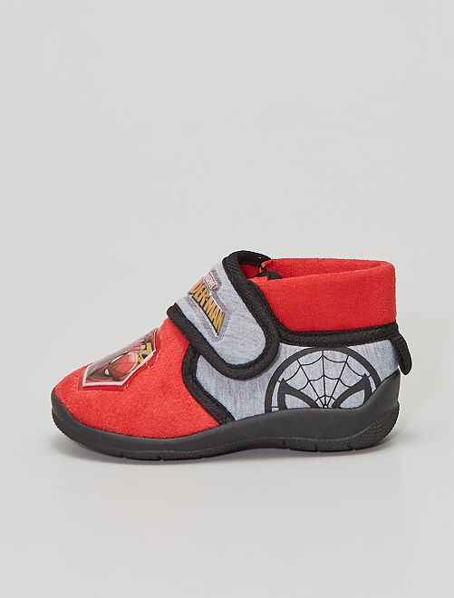 Chaussons montants                                         rouge