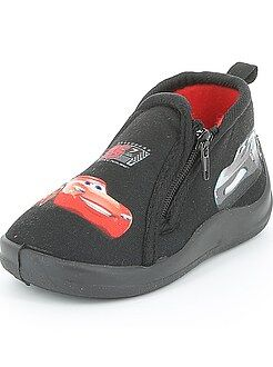 Chaussons montants zippés 'Cars'