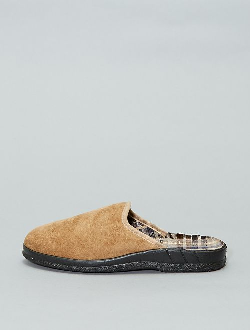 Chaussons mules                             camel Homme