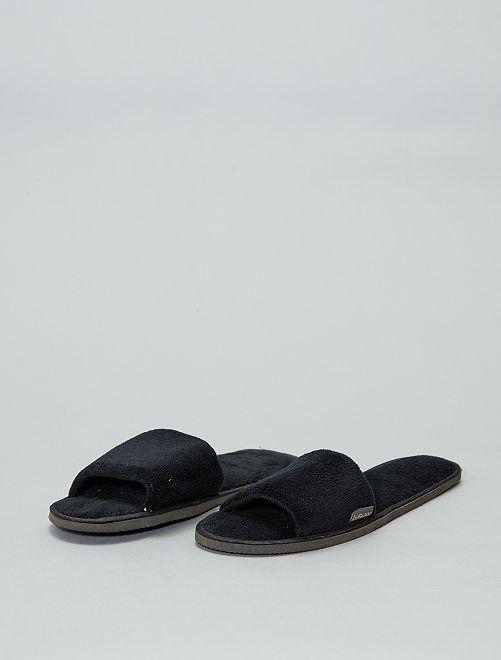 Chaussons mules                                                                 noir Femme