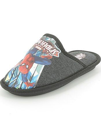 Chaussons mules `Spider Man`
