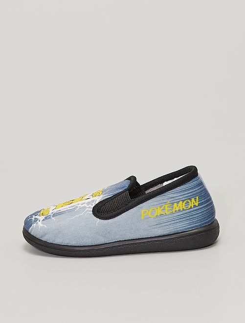 Chaussons 'Pikachu'                             gris