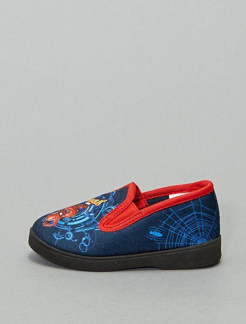 Chaussons 'Spider-Man'                             bleu marine