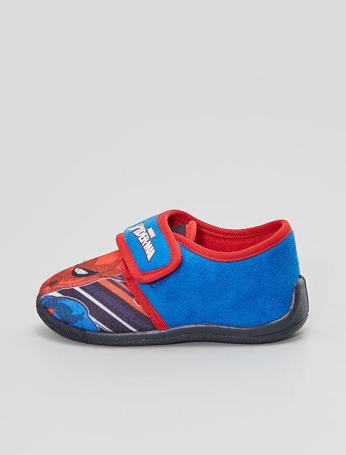 Chaussons 'Spider-Man' lumineux                             bleu navy
