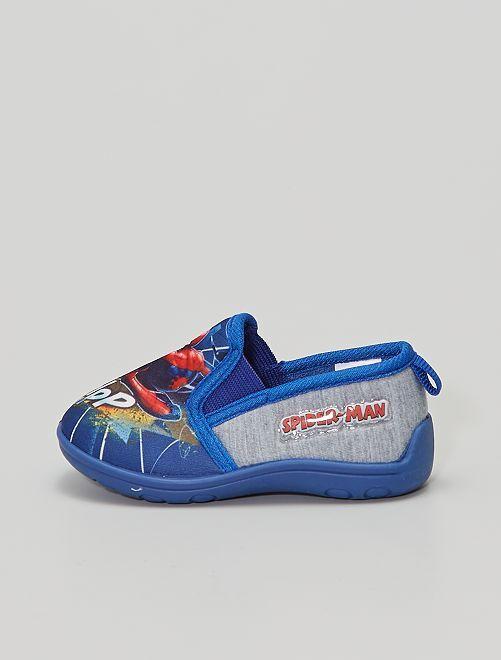 Chaussons 'Spiderman'                                         bleu