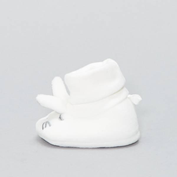 Chaussons têtes de lapins