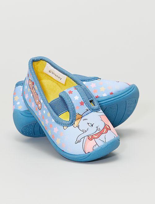 Chaussons type ballerines 'Dumbo' 'Disney'                             bleu