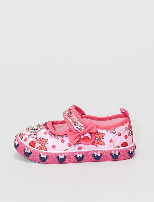 Chaussons type ballerines 'Minnie' 'Disney'                             rose