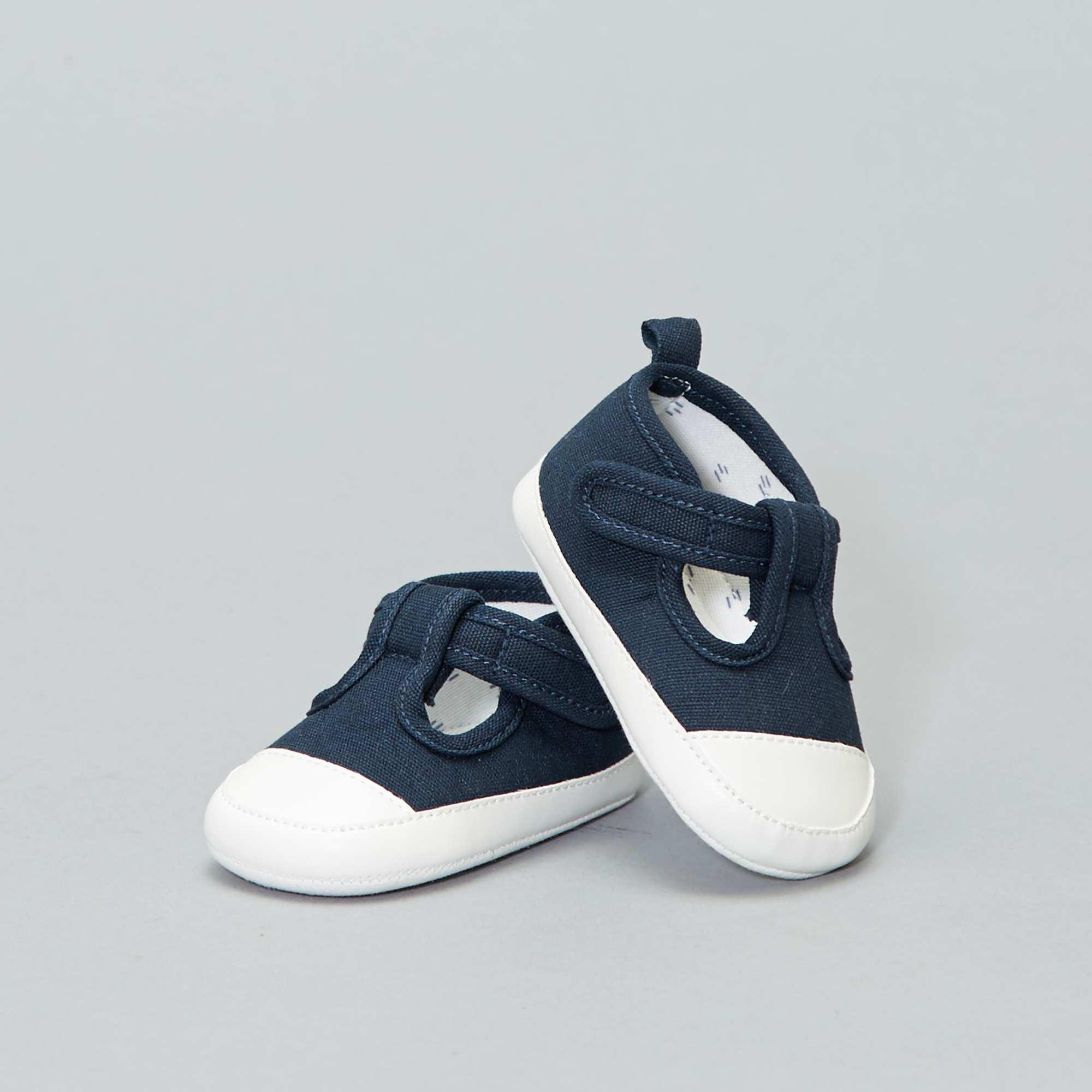 633876715ae43 Chaussure en toile cérémonie Bébé garçon - BLANC - Kiabi - 4