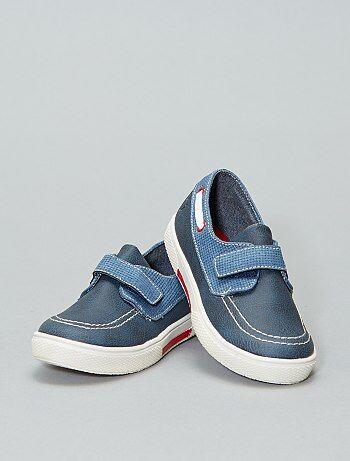 deed249aeabe8e Garçon 3-12 ans - Chaussures bateau à scratch - Kiabi