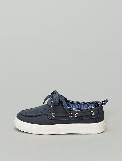 Chaussures bateau                             bleu navy