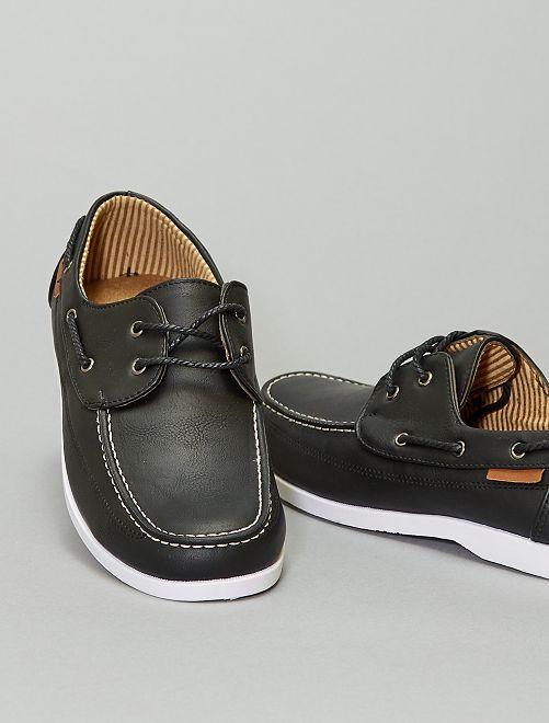 Chaussures bateau                             noir