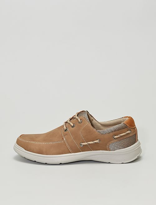 Chaussures bateau                             taupe