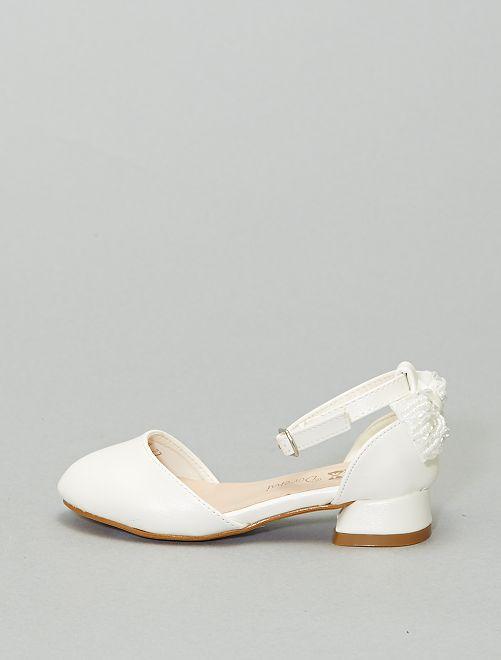 Chaussures de cérémonie                             blanc