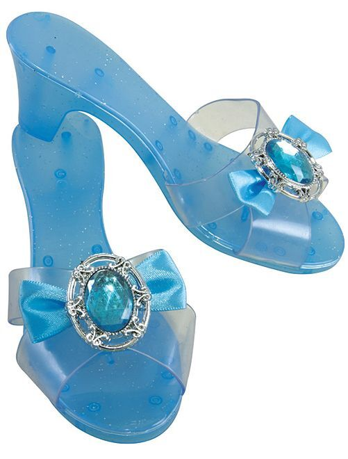 Chaussures de princesse                                         bleu