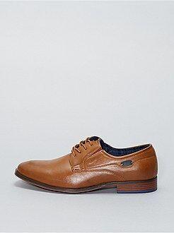 Chaussures de ville en simili - Kiabi