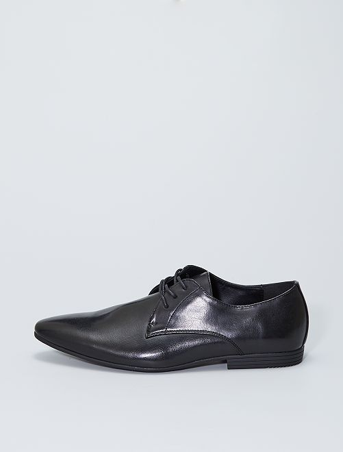 Chaussures de ville en simili                             noir