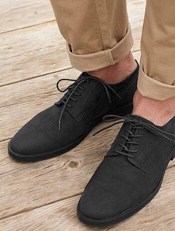 Chaussures de ville en suédine