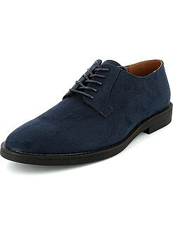 Chaussures homme - Chaussures de ville en suédine - Kiabi