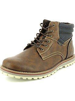 Chaussures homme - Chaussures de ville forme boots