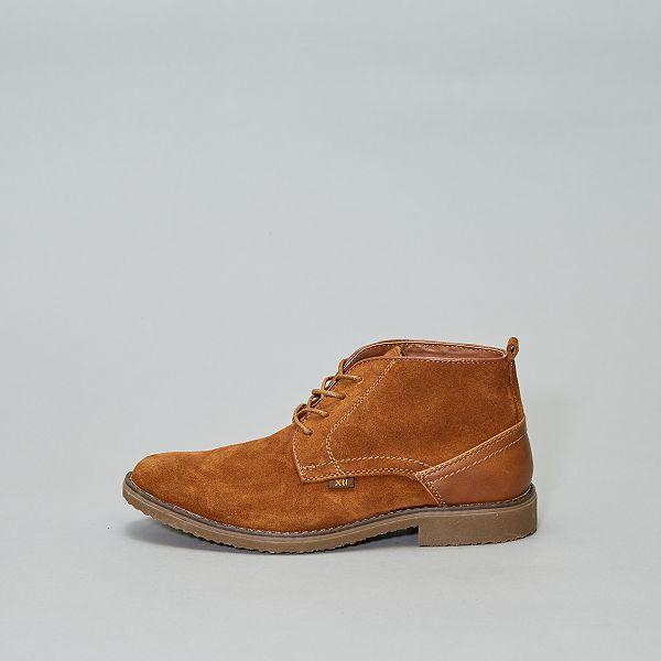 ville en 'XTI' Chaussures de cuir montantes WH2EID9