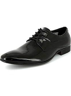 Homme du S au XXL Chaussures de ville richelieu vernies