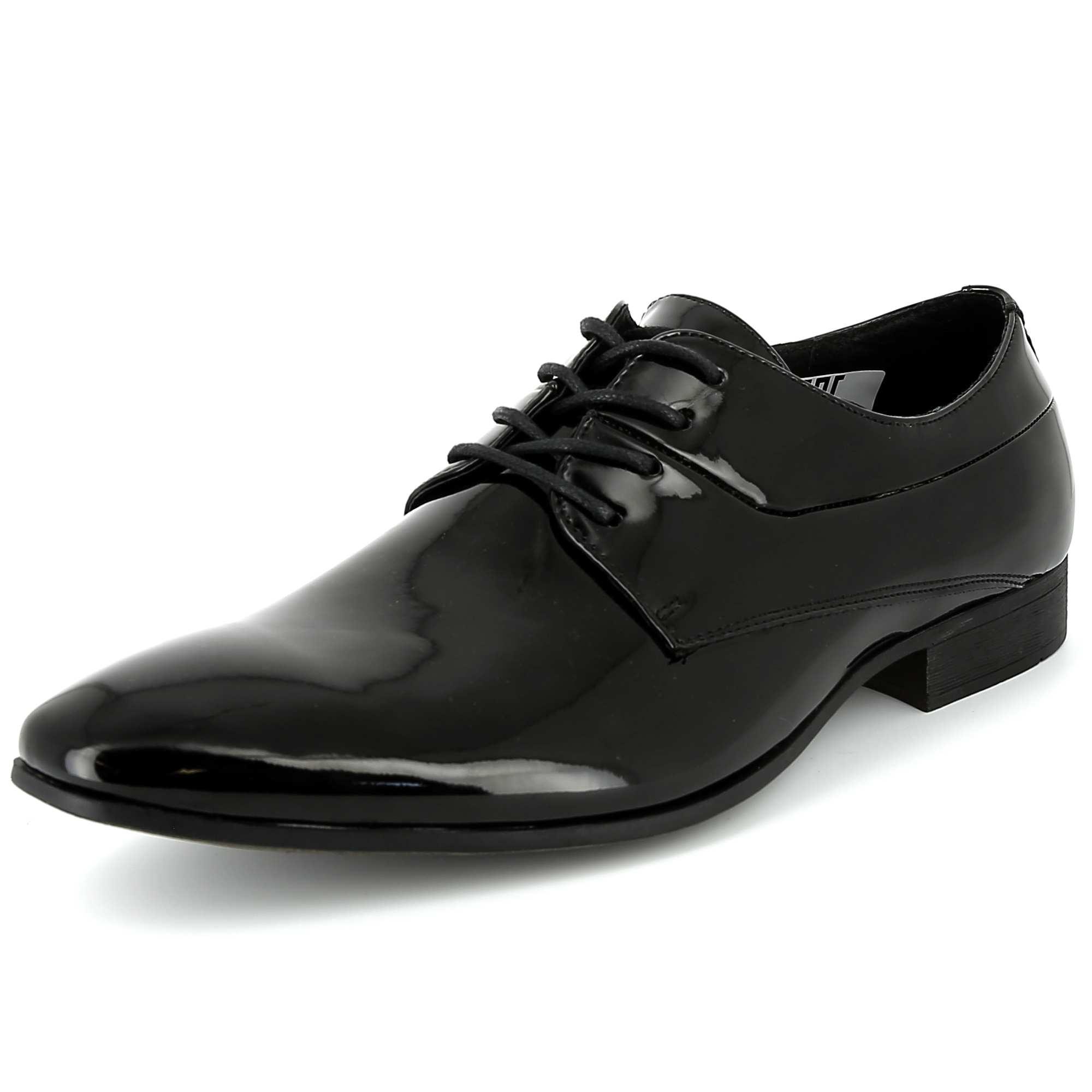 chaussures de ville richelieu vernies homme noir kiabi 30 00. Black Bedroom Furniture Sets. Home Design Ideas