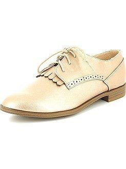 Femme du 34 au 48 Chaussures derbies en simili