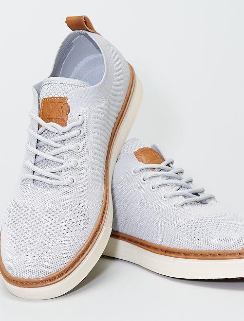 Chaussures en mesh                             gris
