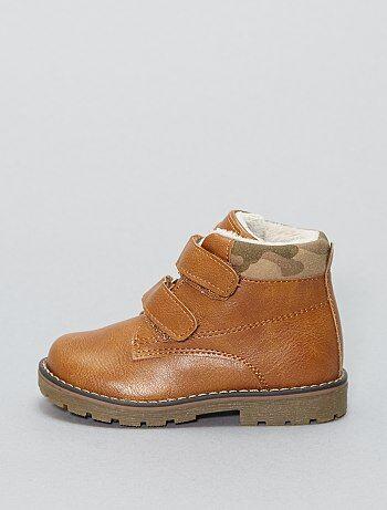 Chaussures - Chaussures montantes en simili - Kiabi