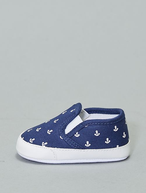 Chaussures type slip-on                                                                 bleu marine