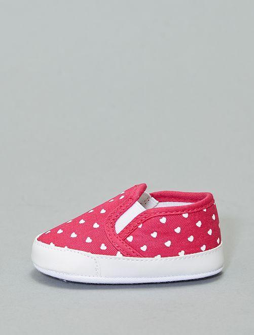 Chaussures type slip-on                                                                 fuchsia