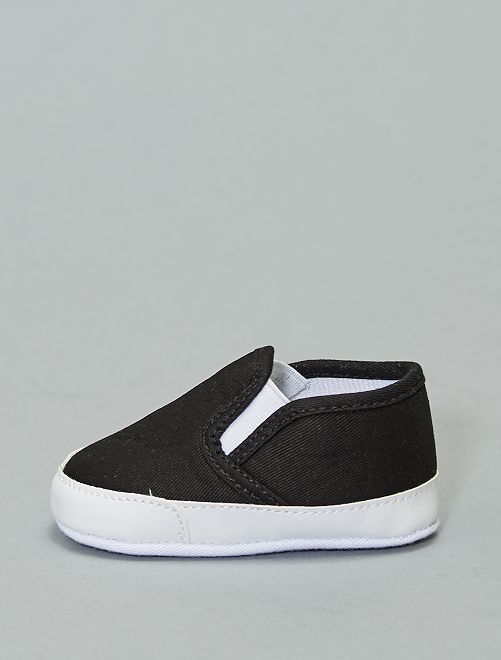 Chaussures type slip-on                                                                 noir